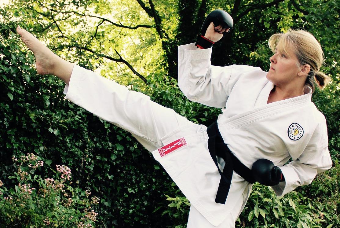 martial arts adult woman